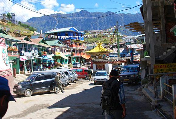 A market in Tawang