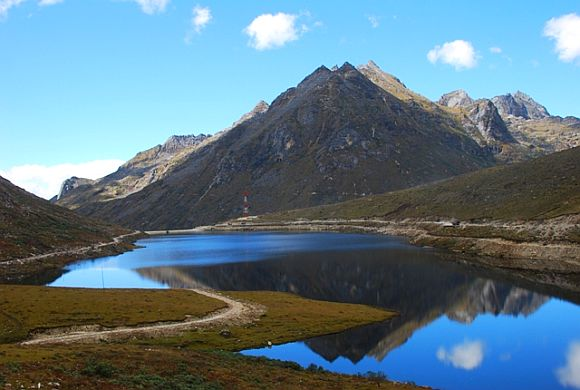 The beautiful Sela Pass near Tawang in Arunachal