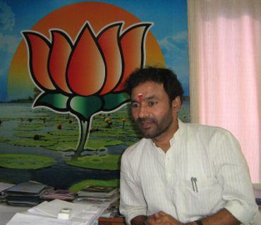 BJP MLA Kishen Reddy
