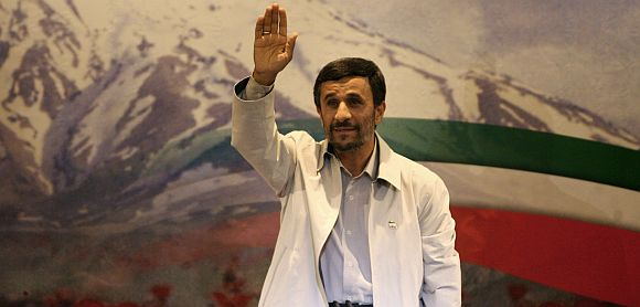 File photo of Iran President Mahmoud Ahmadinejad