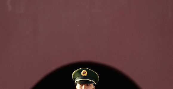There are factions within the Chinese ruling party and its armed forces