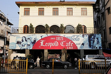 Leopold's in Mumbai is a popular hangout
