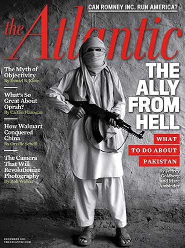 The cover of 'The Atlantic' magazine