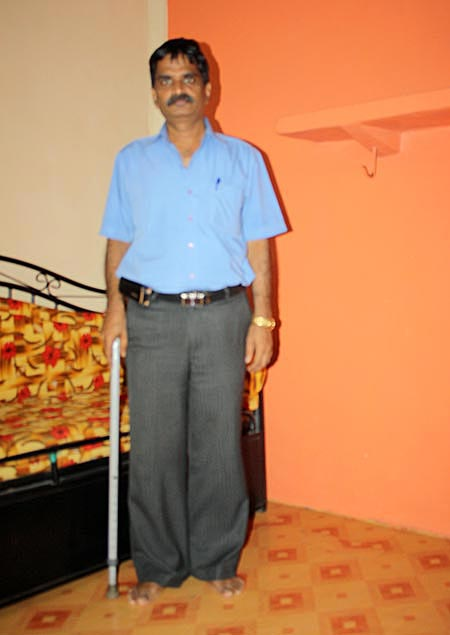 Pravin Pandurang Sawant  was on patrol duty in Colaba on November 26, 2008