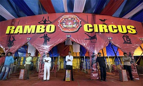THE BIG TOP: The circus comes to town