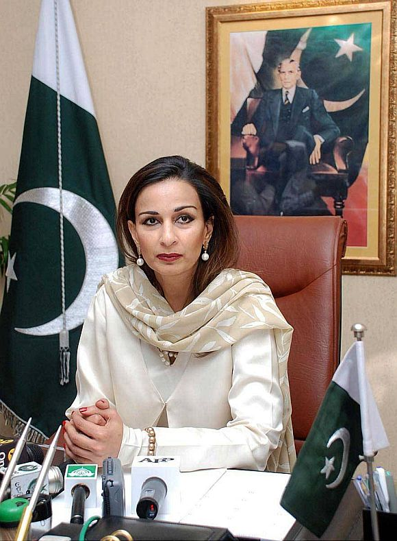 Sherry Rehman is Pakistan's new envoy to US