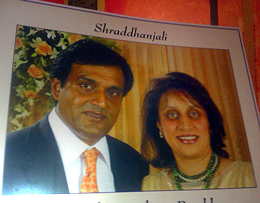 Sunil and Reshma Parekh, who died on 26/11