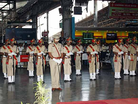 RPF troopers mark 26/11