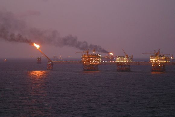Oil exploration in the South China Sea