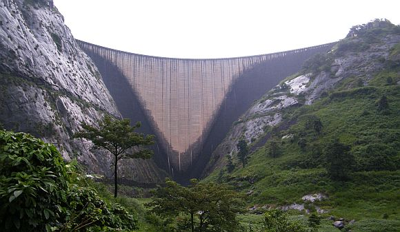 File photo of the Idukki dam