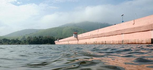File photo of the Mullaperiyar dam