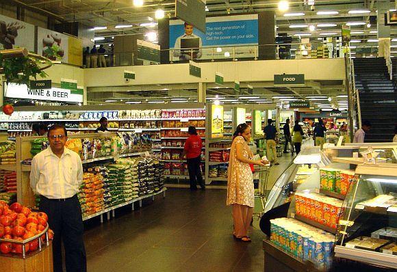 Inside an Indian-owned hypermart