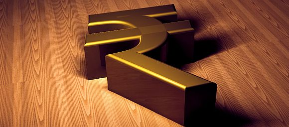 The rupee has declined against the dollar, which has the finance minister worried