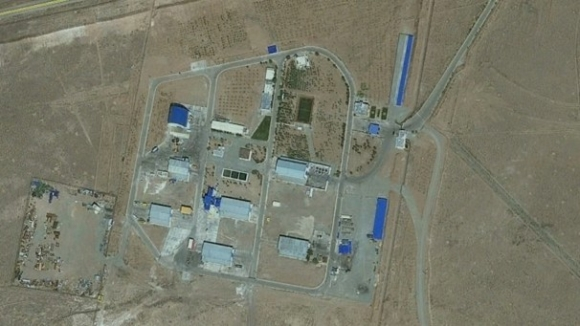 Satellite images of Iran's missile research facility