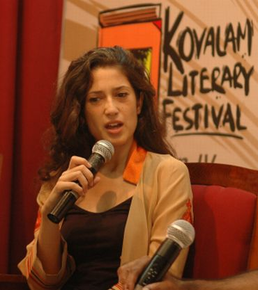 Fatima Murtaza Bhutto at the Kovalam literary festival