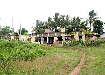 This is where the surrendered Naxals live