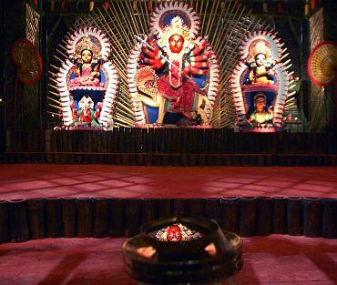 IN PHOTOS: The most AMAZING Durga Pujos of Kolkata