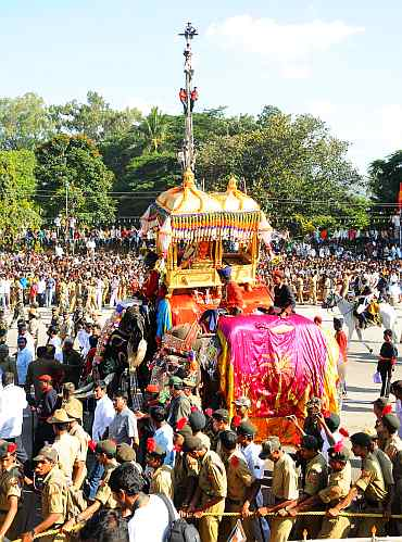 IN PICS: GRAND Dussehra celebrations in Mysore
