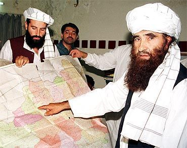 A file picture of Haqqani network chief Jalaluddin