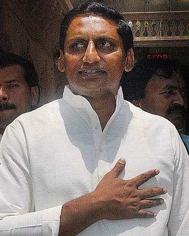 Andhra Chief Minister Kiran Kumar Reddy