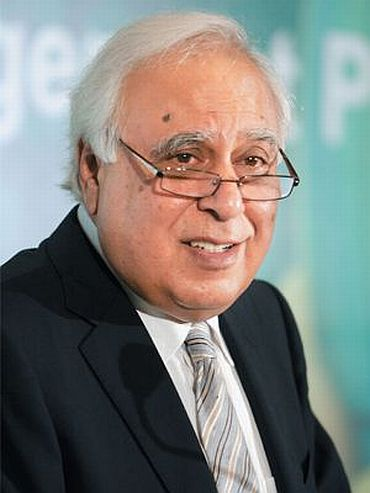 Union minister and member of Lokpal Bill drafting committee Kapil Sibal