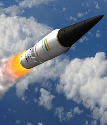 On TEST in December: 5000 km-range Agni-5
