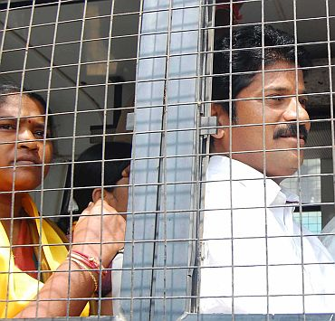 File photo of TDP MLAs courting arrest