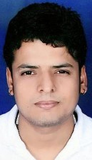 Inder Kumar, 24, is the self-proclaimed president of the state unit of Shri Ram Sene.