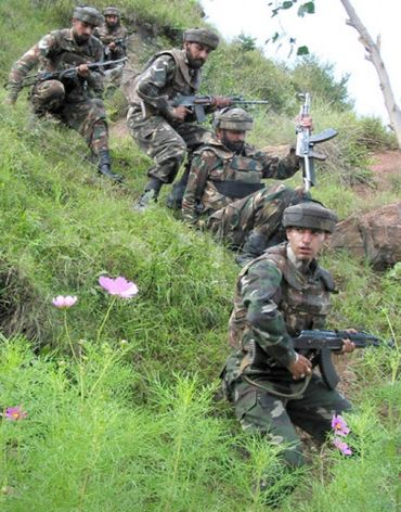 The Rashtriya Rifles was born under very difficult circumstances