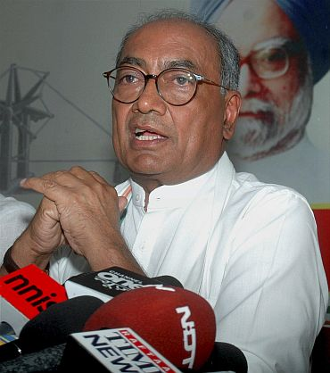 Congress General Secretary Digvijay Singh