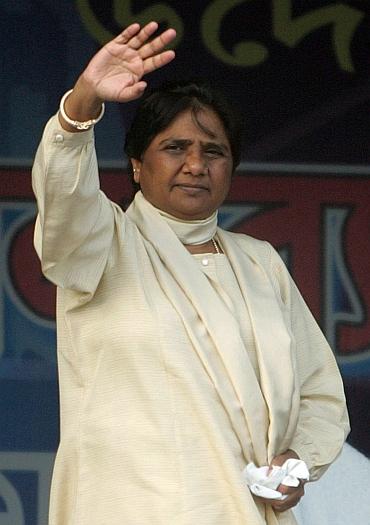 Uttar Pradesh CM Mayawati