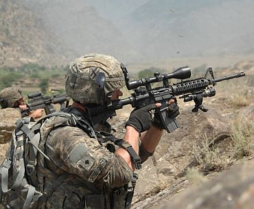 Heavy US troop deployment near Pakistan border