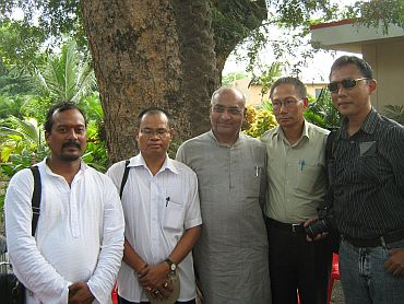 The Manipuri delegation