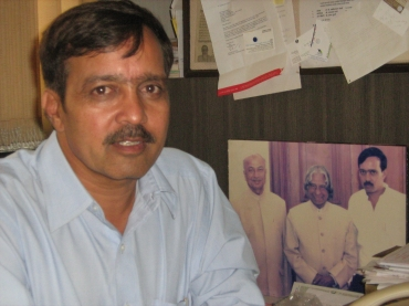 Sanjay Nahar, the founder of Pune-based NGO Sarhad