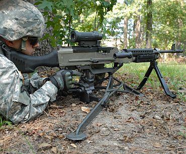 M240L 7.62mm Lightweight Medium Machine Gun