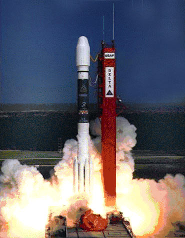 The ROSAT Launch
