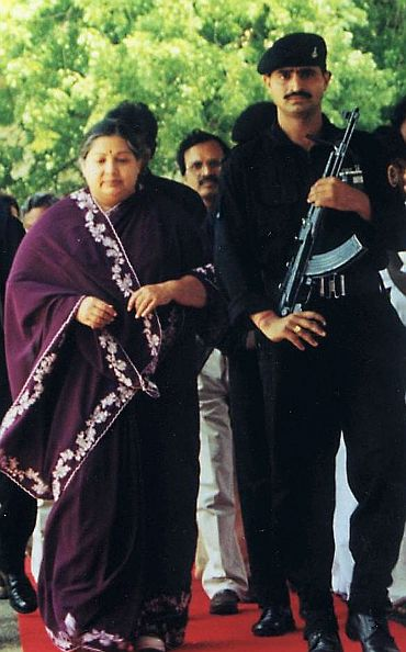 The disproportionate assets case against Jayalalithaa has not been short of drama