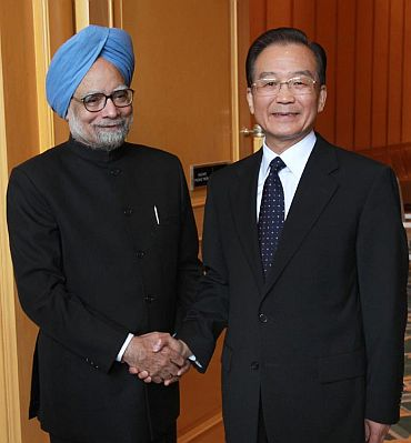 'India and China are neighbours; we have problems'