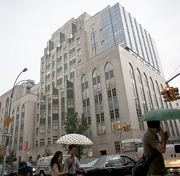 New York Presbyterian Hospital, on the Upper East Side of Manhattan, where Crown Prince Sultan bin Abdul Aziz recently underwent an operation