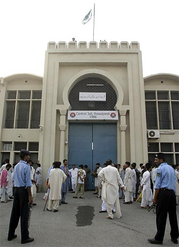 The Rawalpindi Jail where the 26/11 accused are lodged