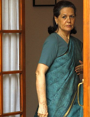 United Progressive Alliance Chairperson Sonia Gandhi