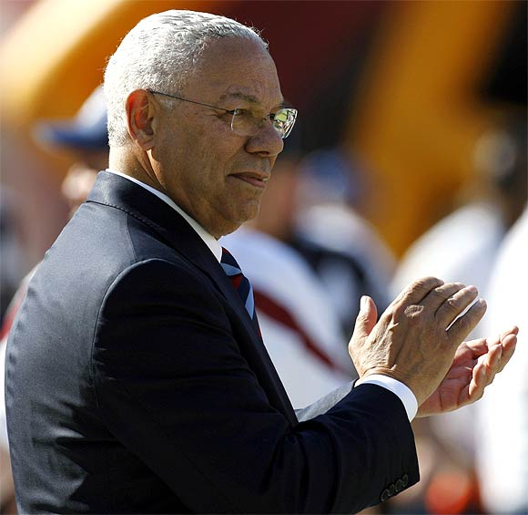 Colin Powell, former US secretary of state