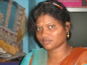 Shashi Mary, a refugee staying in the Mandapam camp, had refused to marry an older man.
