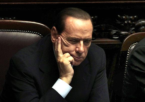 Italy PM Silvio Berlusconi