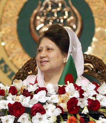 Former Bangladesh PM Begum Khalida Zia