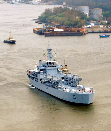 File photo of INS Airavat