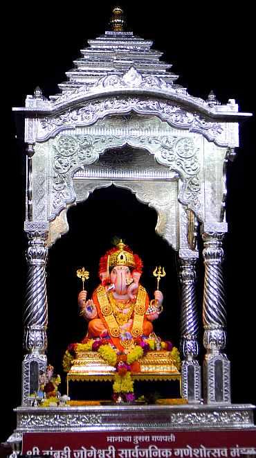 Tambdi Jogeshwari Ganapati