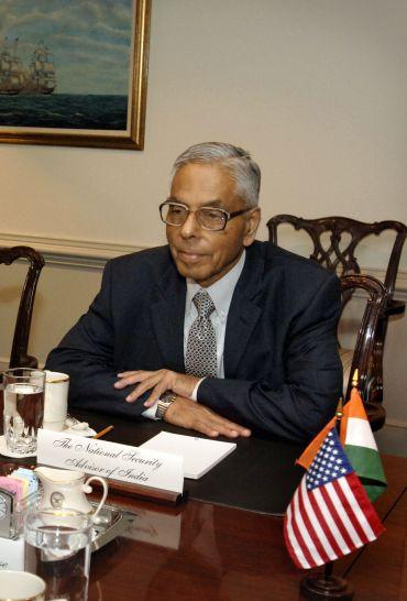 Former NSA MK Narayanan