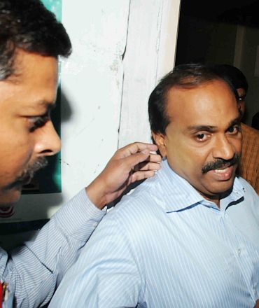 G Janardhana Reddy in CBI custody
