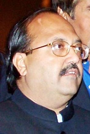 Rajya Sabha member of Parliament Amar Singh